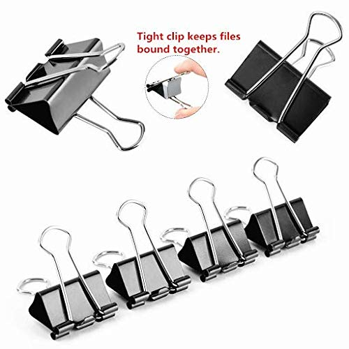 Small Binder Clips for Paper and Other Creative Uses - 3/4 Inch Photo #4
