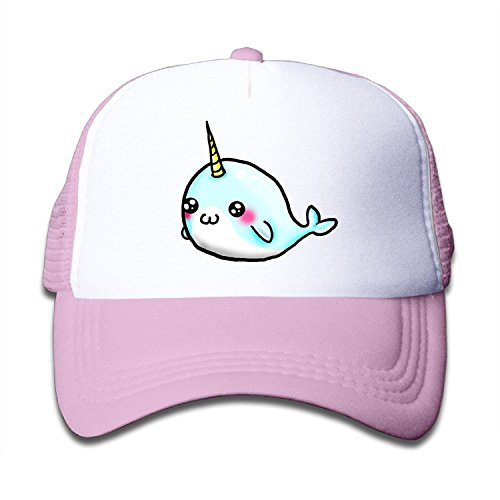 QZJKW Retro Cute Little Narwhal Children Kids Nylon Adjustable Sun Hat One Size Fits Most - Christopher Baseball