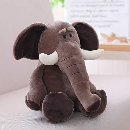 35 Cm elephant DONGER Doll Jungle Animal Toy Doll Girl Cute, Puppy, 25 Cm