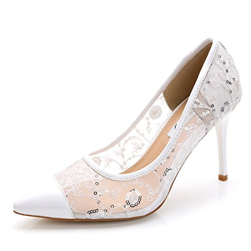 da Forty one a donna scarpe scarpe Slanciata per tacco qzw4xTg7