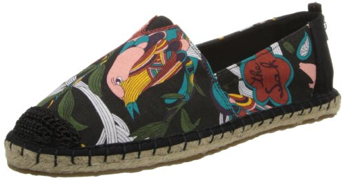 The SAK Women's Ella Ballet Flat,Black Peace,8 M US