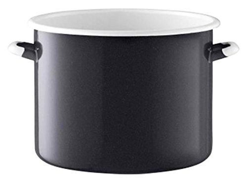 LSA International Utility Bread Bin & Ash Board Pepper, 12.25'', Black by LSA International