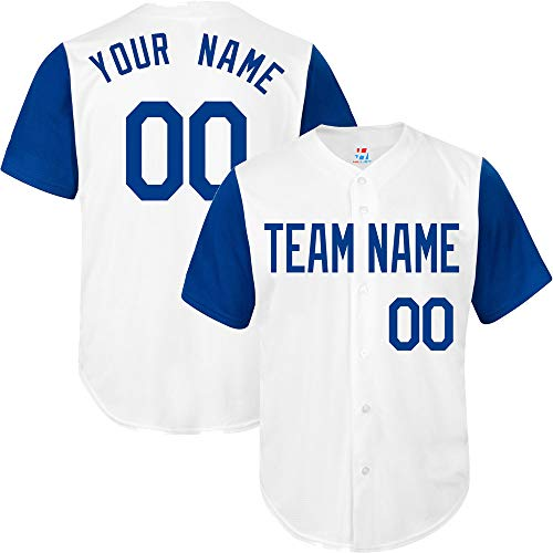 85571524a National League Custom Baseball Jersey for Men Women Youth Full Button  Embroidered Your Name & Numbers S-8XL - Design Online