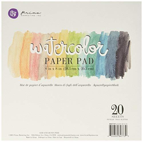Prima Marketing Watercolor Paper Pad 5 [並行輸入品] B07T9TN6NM