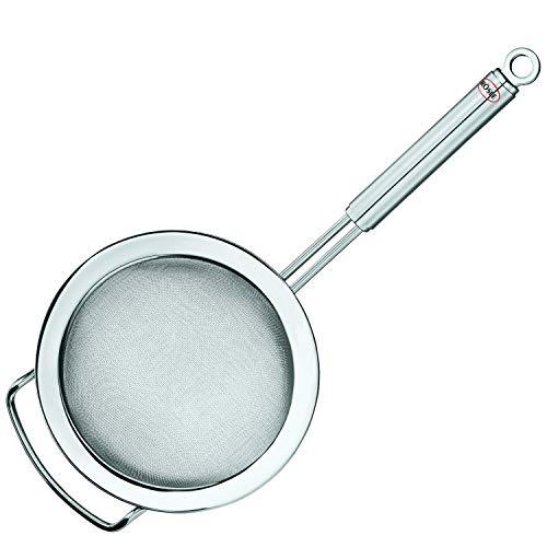Rösle Stainless Steel Round Handle Kitchen Strainer, Fine Mesh, ()