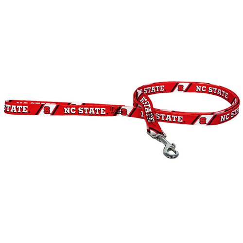 Hunter Mfg. LLP NCAA North Carolina State Wolfpack Pet Lead, Large, Team Color