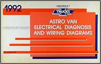 1992 Chevy Astro Van Wiring Diagram Manual Original: Chevrolet: Amazon.com:  BooksAmazon.com