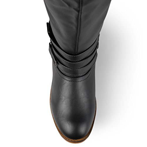 Brinley Co Women's Bailey Riding Boot, Black, 7 M US