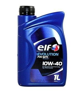 Elf Competition STI Aceite de Motor Coche/Furgonetas 4T. 10 W40 diésel: Amazon.es: Coche y moto