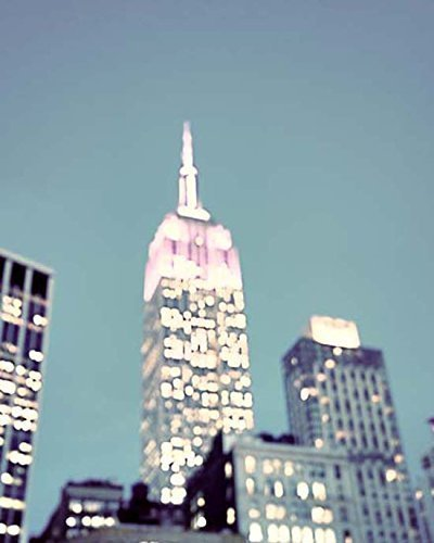 New York City Empire State Building abstract photo 8x10 inch Print by Audra Edgington Fine Art