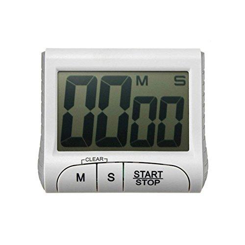 Patgoal elektronischer Timer mit Stoppuhr LCD Display