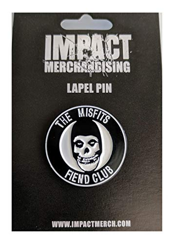 Misfits New Authentic Limited Edition Fiend Club Enamel Lapel Pin 1