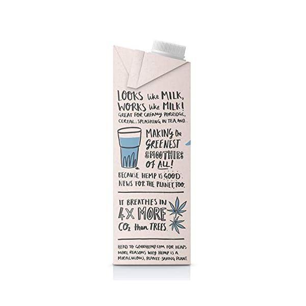 Good Hemp Creamy Seed Drink – 1 Litre (Pack of 6)