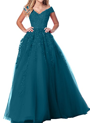 Linie Dunkel Ausschnitt A Blau Spitze Abschlussballkleider Prinzess V Abendkleider Damen Blau Charmant Dunkel Abiballkleider PA5wxXaqxn
