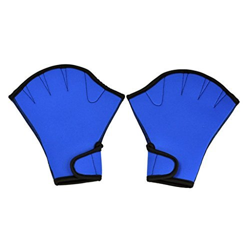 Umermaid Training Swimming Gloves Fingerless Webbed Water Resistance Neoprene 1 pair