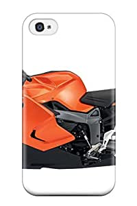 1123289K19084697 Tpu Case Cover Compatible For Iphone 4/4s/ Hot Case/ Bmw Motorcycle
