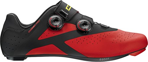 Mavic Cosmic Pro Shoe - Men's Black/Firey Red, US 10.0/UK 9.5
