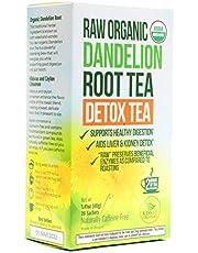 Dandelion Root Tea - Raw Organic Vitamin Rich Digestive