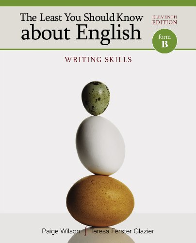 Skills Form (The Least You Should Know about English: Writing Skills, Form B)