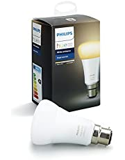 Philips Hue White and Colour Ambiance Dimmable LED Smart Bulb