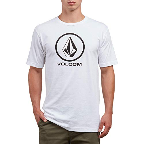 - Volcom Men's Crisp Stone Short Sleeve Basic Fit Tee