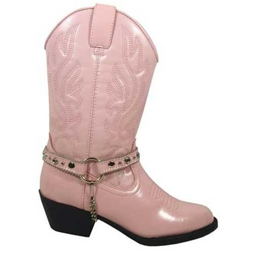 Smoky Mountain Toddler-Girls' Charleston Cowgirl Boot Pink 7 D(M) US