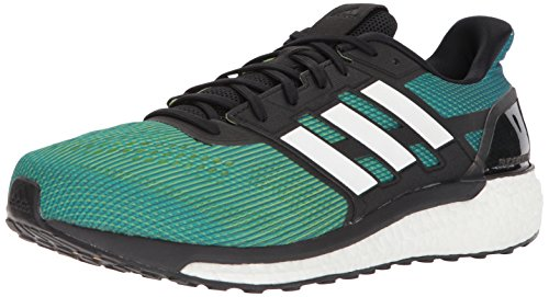 adidas Men's Supernova M Running Shoe, Slime/White/Hi-Res Blue, 10 M US (Adidas Supernova Glide 6)
