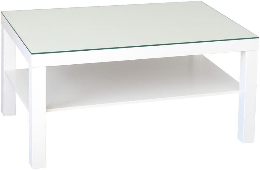 Plateau En Verre De Sécurité Pour Ikea Lack Table Grande