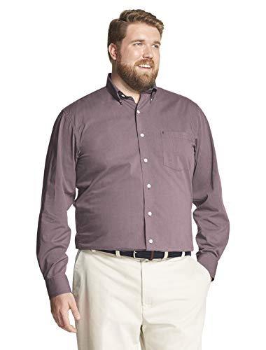 - IZOD Men's Performance Natural Stretch Solid Long Sleeve Shirt (Big & Tall and Tall Slim)