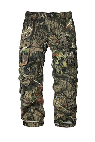 - AKARMY Must Way Men's Cotton Casual Military Army Cargo Camo Combat Work Pants with 8 Pocket 3357 Tree Camo 40
