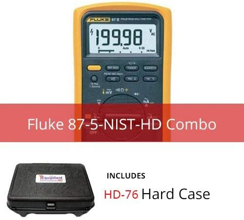 Fluke 87-5-NIST-HD Industrial True RMS Multimeter with Hardcase