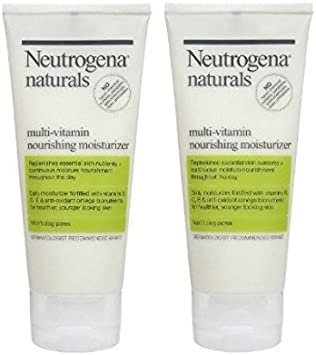 Neutrogena Naturals Multi-Vitamin Nourishing Moisturizer 3 oz Pack of 2