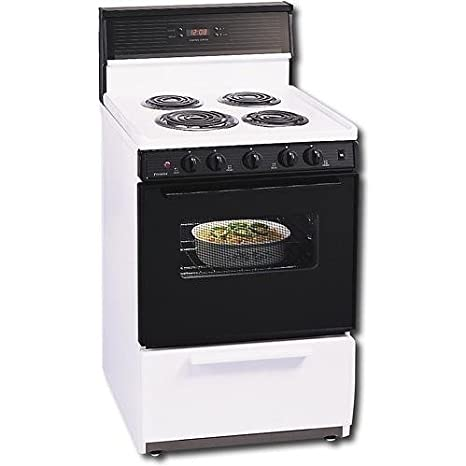 Amazon Eck340w 24quot Compact Electric Range With 4 Coil