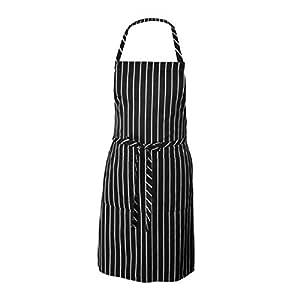 Wimagic - Delantal de Cocina y Restaurante para Mujer con Falda ...
