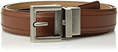 Comfort Click Boy's Adjustable Perfect Fit Pebble Leather Belt - As Seen On Tv