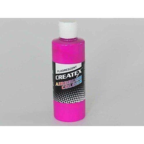 4 oz. Bottle of Createx Fluorescent Raspberry #5402 CREATEX AIRBRUSH COLORS Hobby Craft Art ()
