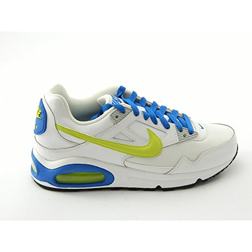 Nike - Nike Air Max Skyline gs scarpe sneakers basse low bianche white ltr - Bianco, 36,5