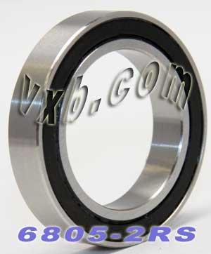 6805-2RS Sealed Bearing 25x37x7 Ball Bearings - 25x37x7 Sealed Vxb Ball Bearings
