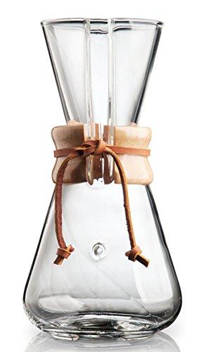 Chemex CM-1C 3-Cup Classic Series Glass Coffeemaker