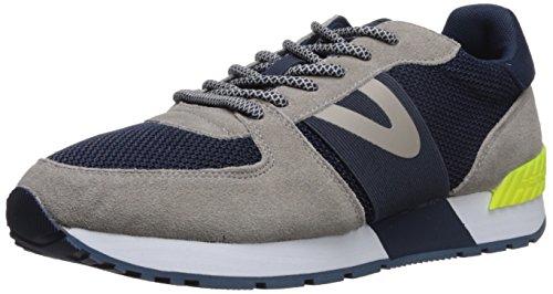 Tretorn Men's LOYOLA8 Sneaker, Grey Navy, 11 M US