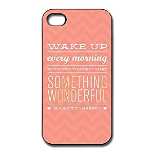 IPhone 4/4s Cases Sayings Design Hard Back Cover Cases Desgined By RRG2G