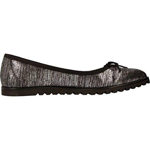 para Marca PRIVATA Color Plateado Mujer Mujer Bailarina Plateado Zapatos EX229 PRIVATA Bailarina Zapatos Plateado para Modelo HwqSUxBq