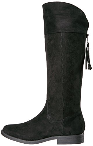 Sugar Girls' Powdered Pull-on Boot, Black Suede, 13 M US Little Kid by Sugar (Image #5)