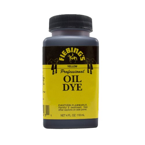 Fiebing's Yellow Oil Leather Dye 4oz
