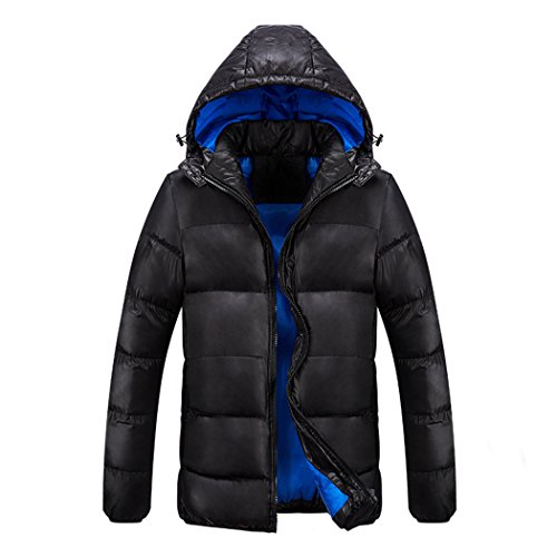 Warm Black xxxl increase padded jacket blue HHY camouflage ZdqgSS