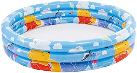 Intex 58915NP - Piscina hinchable Winnie 3 aros 147 x 33 cm, 288 litros: Amazon.es: Jardín