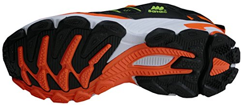 sintético Textil para Zapatillas Mujer gibra de Neongrün Neonorange Schwarz PSHwzqA1x