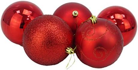 Christmas Concepts® Pack of 5 - Adornos de árbol de Navidad Extra ...