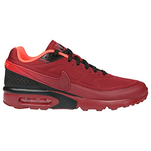 pretty nice cd5df 64ea9 Galleon - NIKE Mens Air Max BW Ultra SE Red Textile Trainers 11 US