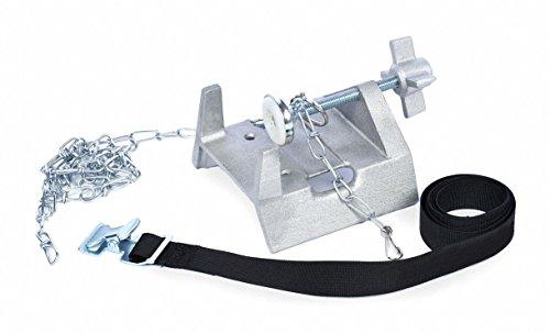 Cylinder Holder - Bench Bracket, Cast Aluminum
